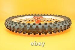 00-01 2000 CR250 CR 250 Front Rear Wheels Complete Wheel Set Hub Rim Assembly B