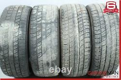 00-06 Mercedes W220 S430 CL500 Complete Front & Rear Wheel Tire Rim Set R17 OEM