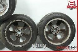 01-04 Mercedes R170 SLK230 Complete Front & Rear Wheel Tire Rim Set OEM