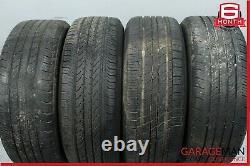 01-09 Mercedes W203 C230 Complete Front & Rear Wheel Tire Rim Set 7Jx16H2 OEM