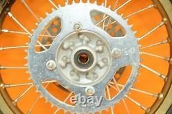 01-13 2002 KX85 KX 85 PRO WHEEL Complete Set Front Rear Wheels Rim Hub