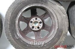 02-05 Mercedes W163 ML320 ML500 Complete Wheel Tire Rim Set 8.5Jx17H2 ET52 OEM