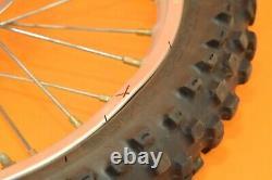 02-18 2003 YZ85 YZ 85 Front Rear Wheels Complete Set Hub Rim Tire Assembly