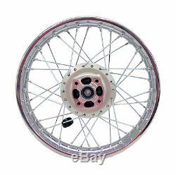 02-Up Yamaha TTR125 TTR 125L Rear Wheel Rim Hub Laced Complete Wheel 16 inch