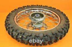 03-04 2003 TTR225 TTR 225 Front Rear Wheels Complete Set Hub Rim Tire Assembly