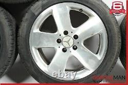03-05 Mercedes W211 E320 Complete Wheel Tire Rim Set of 4 Pc 8Jx17H2 ET33