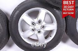 03-06 Porsche Cayenne 955 Complete Front & Rear Wheel Tire Rim Set R18 A56 OEM