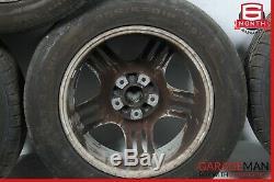 03-06 Porsche Cayenne 955 Complete Front & Rear Wheel Tire Rim Set R18 OEM