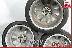03-08 Mercedes R230 SL500 Complete Staggered Wheel Tire Rim Set of 4 R18 9.5x8.5