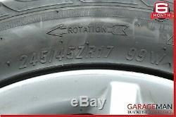 03-09 Mercedes W209 CLK350 Complete Front & Rear Wheel Rim Tire Set OEM
