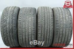 03-09 Mercedes W209 CLK55 AMG Complete Front & Rear Side Wheel Tire Rim Set OEM