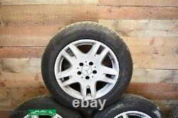 03-09 Mercedes W211 E320 Complete Front & Rear Wheel Tire Rim Set