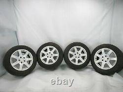 03-09 Mercedes W211 E320 Complete Front & Rear Wheel Tire Rim Set OEM