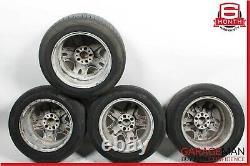 03-09 Mercedes W211 E320 Complete Wheel Tire Rim Set of 4 Pc 8Jx16H2 ET36 OEM