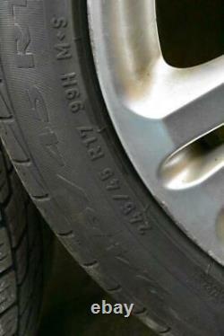 03-09 Mercedes W211 E350 Complete Front & Rear Wheel Tire Rim Set R17 OEM