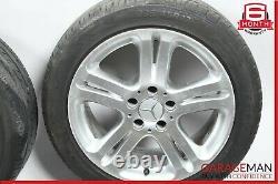 03-09 Mercedes W211 E350 E550 Complete Wheel Tire Rim Set R17 8Jx17H2 ET38 OEM