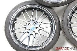 06-11 Mercedes W219 CLS550 SL550 Complete Front & Rear Wheel Tire Rim Set R20