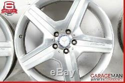 06-11 Mercedes W251 R350 AMG Sport Complete Front & Rear Wheel Rim Set 8.5Jx20H2