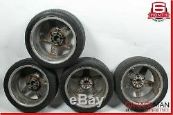 07-09 Mercedes W211 E63 CLS63 AMG Complete Wheel Tire Rim Set of 4 Pc R18 OEM