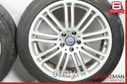07-09 Mercedes W221 S550 CL550 Complete Wheel Tire Rim Set Staggered 9.5x8.5 R19