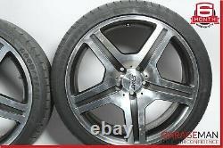 07-13 Mercedes S550 CL600 Complete R19 Wheel Tire Rim Set 8.5Jx19