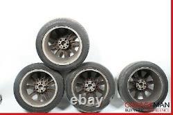 07-13 Mercedes W221 S550 CL550 AMG Complete Front & Rear Wheel Tire Rim Set R18