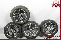 08-15 Mercedes W204 C250 C300 R17 Complete Staggered Wheel Tire Rim 7.5x8.5 OEM