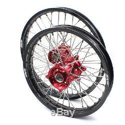 1.621 & 2.1519 Wheel Fit Honda Cr125r Cr250r Crf250r Crf450r Complete Rim Set