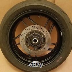 14-15 Ducati 899 Panigale Rear Wheel Rim Complete