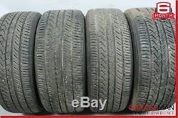 14-17 Maserati Ghibli Complete Front & Rear Wheel Tire Rim Set 8.5/10Jx19H2 OEM