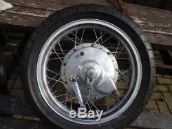 16 Inch Rear Aluminium Rimmed Wheel Project Chopper Complete Honda