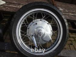 16 Inch Rear Aluminium Rimmed Wheel Project Chopper Complete Xs650