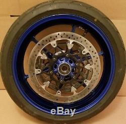 17-19 Suzuki GSXR1000 Front Wheel Rim Complete