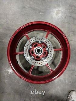 17-21 Suzuki GSXR 1000 Rear Wheel Complete Straight 17 18 19 20 21 Rim