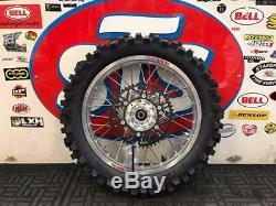 18 Ktm Exc Exc-f XC Rear Wheel Combo Talon Husqvarna New Complete Tyre Rim