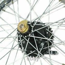 19 Half Width Hub Rear Complete Wheel Rim Assembly Royal Enfield Bsa New