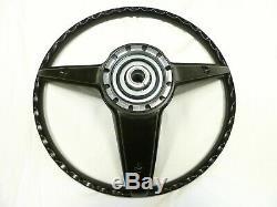 1970 Torino, Fairlane, LTD, Rim Blow Steering Wheel, New RimBlow, 1971-72-73, Complete