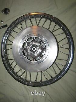 1973/74 Yamaha XS650, TX650, TX750 front wheel complete