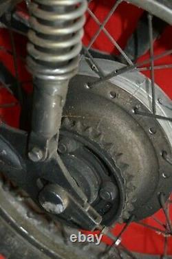 1975 1976 Honda CB500T Rear Wheel Rim Swing Arm Shocks Tire Hub Brakes Complete
