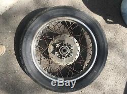 1976 Honda CB750F DOHC original COMPLETE rear wheel rim super sport