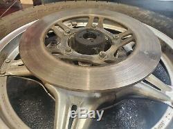 1979 Honda CB750F DOHC original COMPLETE rear wheel rim COMSTAR super sport