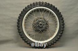 1980 1981 Yamaha IT175 IT 175 Front Rear Wheel Tire Rim Set Hub COMPLETE