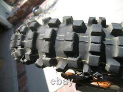 1981 81 Yamaha Yz250 & Yz465 Oem Complete Rear Wheel Rim Brake Plate Lever Tire
