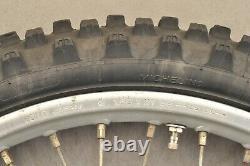 1984 1985 Honda XR250 XR250R XR 250 Complete Front Wheel Tire Rim Hub VERY NICE