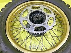 1986 CR500 CR125 CR 500 125 Front Rear Wheel Complete Set Rim Hub Spokes Tire