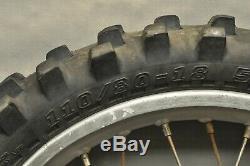 1990 1994 HONDA XR250R XR 250 250R XR250 Complete Rear Wheel Tire Rim Hub 18'