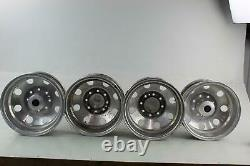 1991 FORD F350 (Complete Wheel Rim Set) Aftermarket ALCOA 16x6-1/2 withCenter Caps