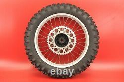 1992 1993 1994 Honda CR250 CR250R CR 250 Complete Rear Wheel Tire Rim Hub