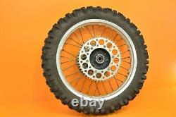 1992 92 CR125 CR 125 OEM Front Rear Wheels Complete Set Hub Rim Tire Assembly A