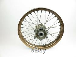 1996-2008 Suzuki RM250 RM 125 RM125 250 Complete Rear Wheel Rim